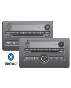 SAAB 9-3 (2007-2012) and 9-5 (2006-2010) stereo with bluetooth